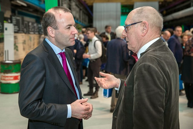 EPP candidate Manfred Weber on 'listening tour', February 2019